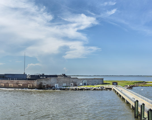 Fort Sumter in Charleston