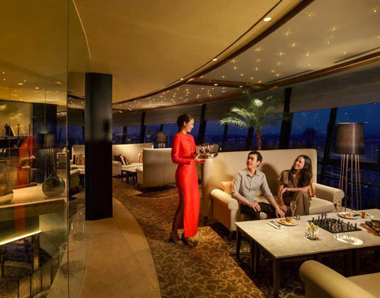 Mandarin Orchard - Meritus Club Lounge