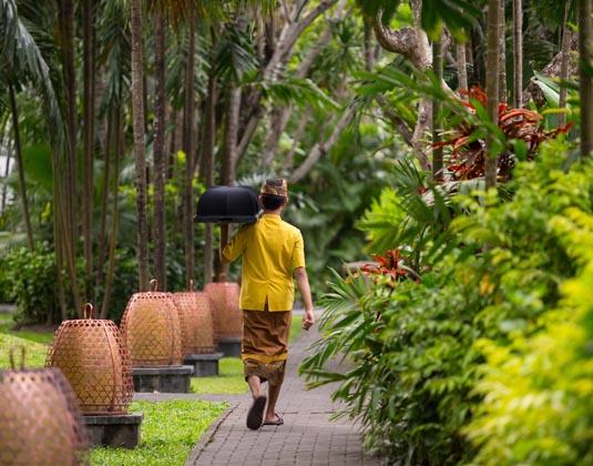 Puri Santrian - Garden