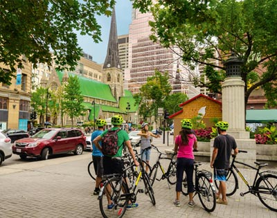 Montréal Plus Cycling Tour excursion