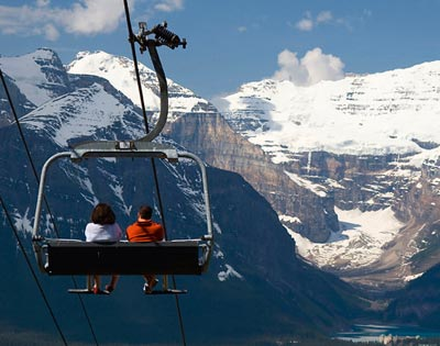 Lake Louise Ride & Dine (including lunch) excursion