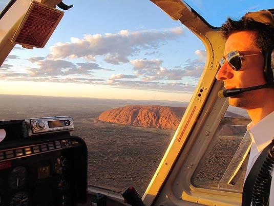 Uluru & Kata Tjuta Helicopter Flight excursion