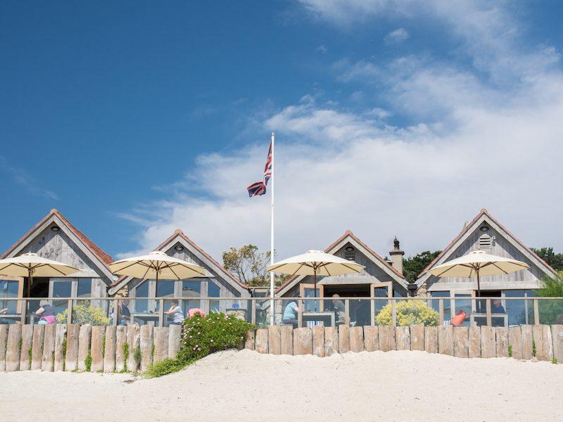Ruin Beach Café Tresco
