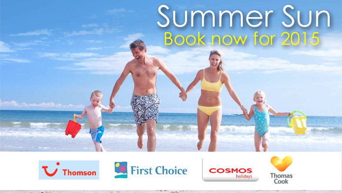 Book now for 2015