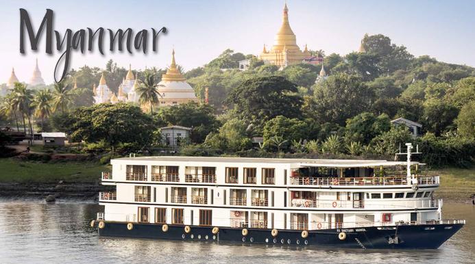 Myanmar Luxury River Cruise