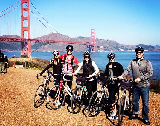 Bike tour San Francisco