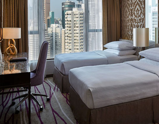 Dorsett Wanchai - Grand Deluxe Causeway Bay City View Room