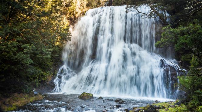 Bridal Veil Falls, Cradle Mountain