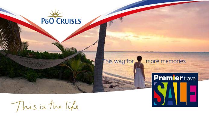 P&O 2019 cruises
