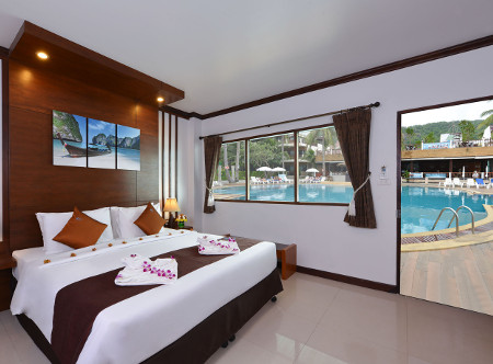 Phangan Bayshore - Superior Poolside Room