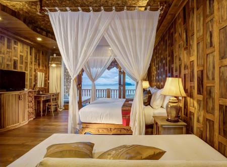 Santhiya Koh Yao Yai Resort & Spa- Supreme Deluxe Sea View Bedroom