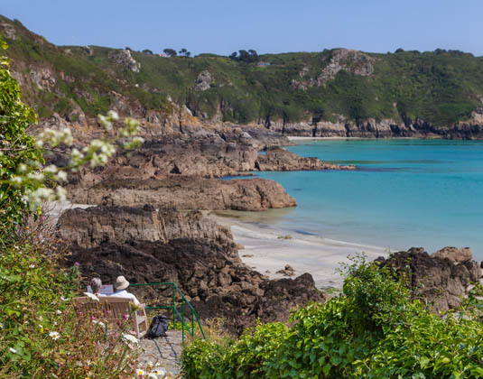 Guernsey, South Coast Cliffs
