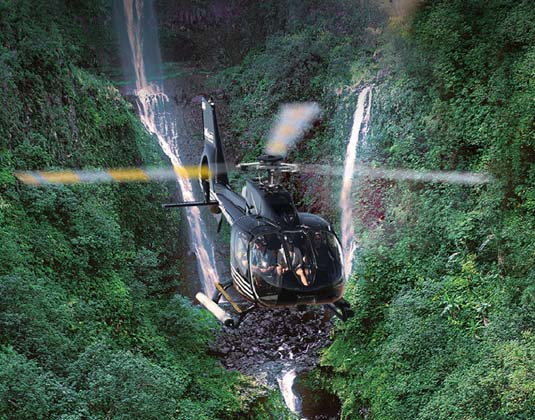 Hana & Haleakala Helicopter Tour excursion