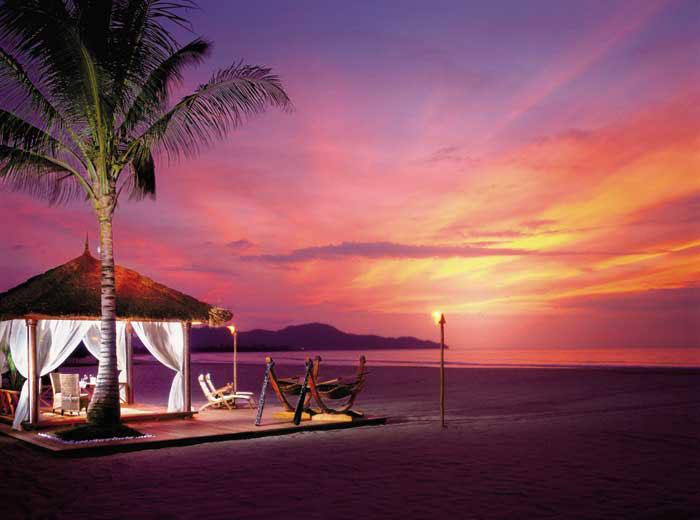 Shangri-La's Rasa Ria Resort & Spa - Sunset
