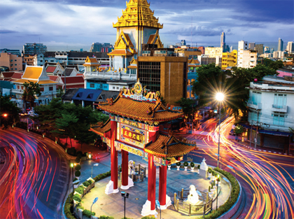 Bangkok by night excursion