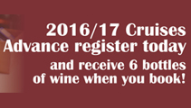 New 2016/17 Cruises