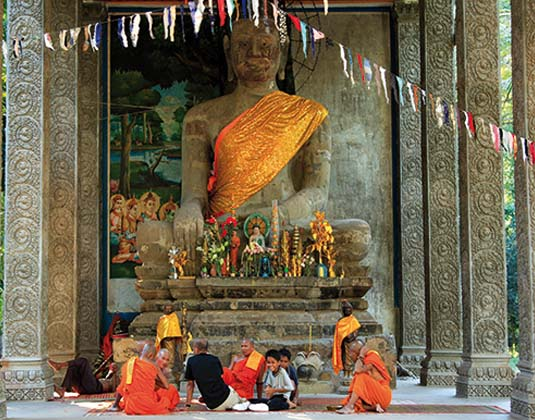 Siem Reap Budda