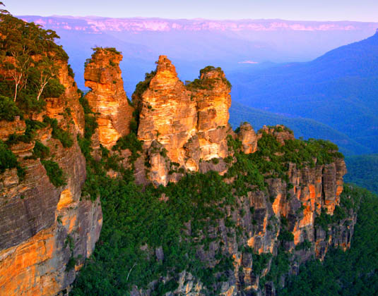 Blue Mountains & Wildlife Park excursion