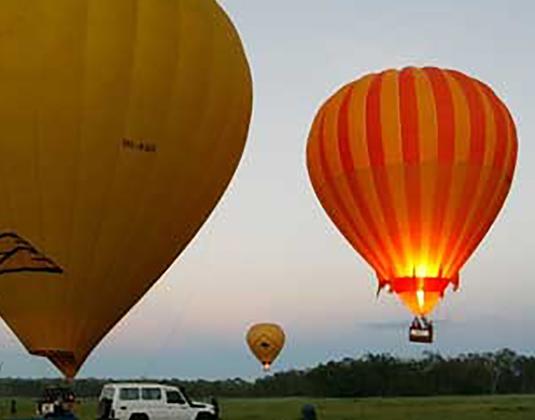 Ballooning excursion