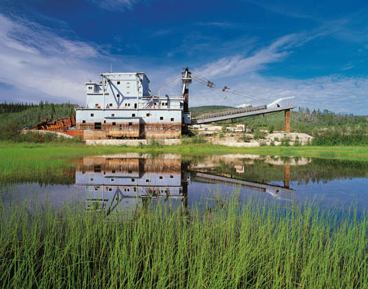 Yukon - Bonanza Creek and Gold Dredge