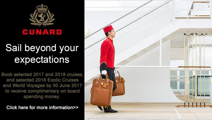 Cunard 2017/18 cruise