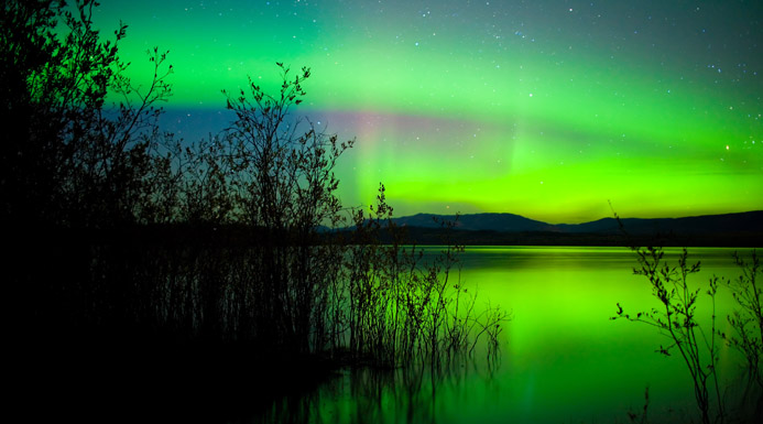 Northern Lights, Yukon Territory