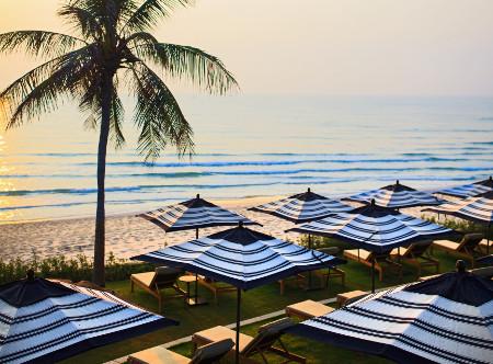 Hua Hin Marriott   - Beachfront Lawn