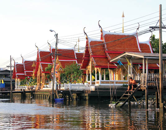 Klong and Rice Barge Cruise excursion