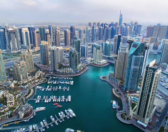 Modern Dubai city tour excursion