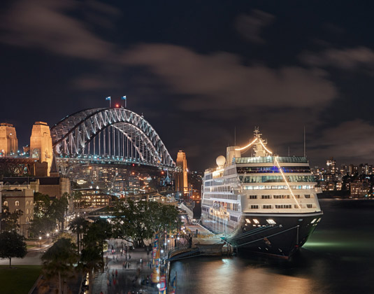 Sydney, Azamara Cruise A Bridge