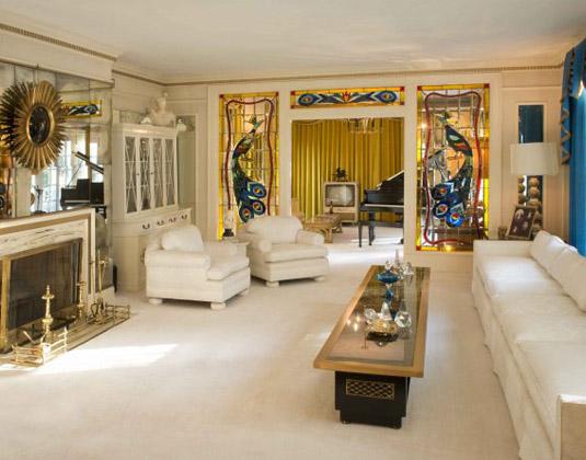 Memphis, Graceland - Living Room