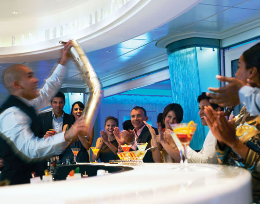 Celebrity Solstice Martini Bar
