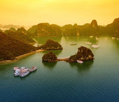 Halong Bay & Lan Ha Bay