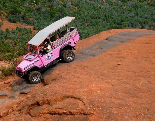 Broken Arrow Jeep Tour Sedona excursion