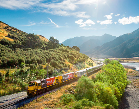 TranzAlpine Train excursion