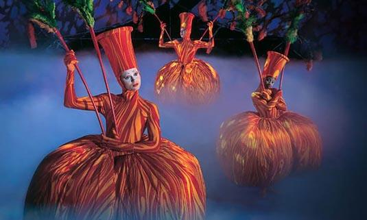 Cirque du Soleil Ticket excursion