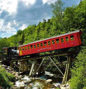 Mount Washington Cog Railway Tour