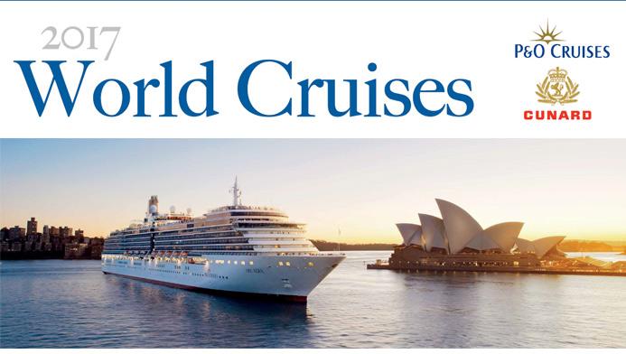 2017 World Cruises