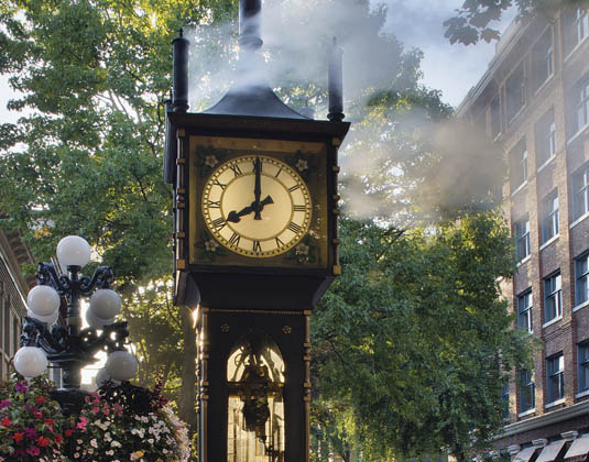 Steam Clock at Gastown Vancouver