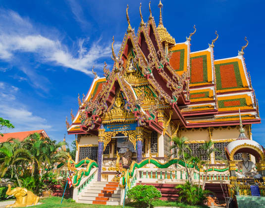 Temple in Koh Samui