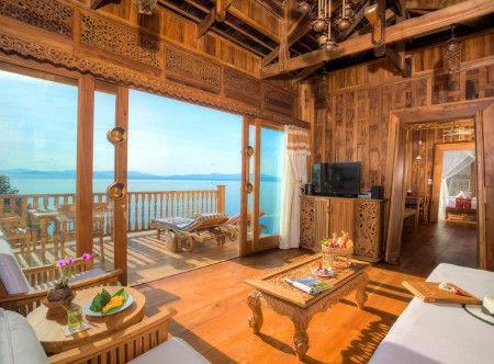 Santhiya Koh Yao Yai Resort & Spa - Royal Grand Pool Villa Suite Livingroom