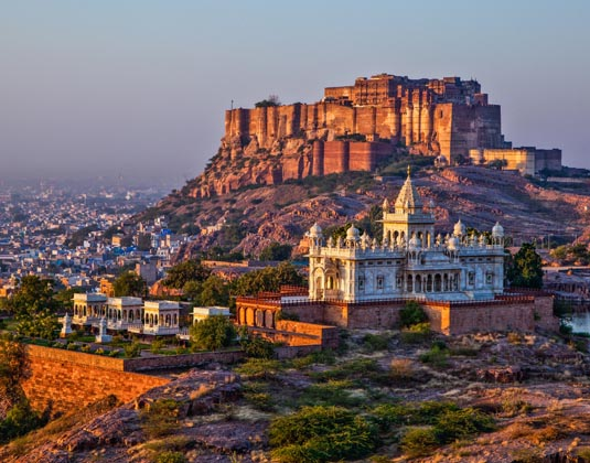 Mehrangarh Fort and Jaswant Thada Mausoleum Jodhpur