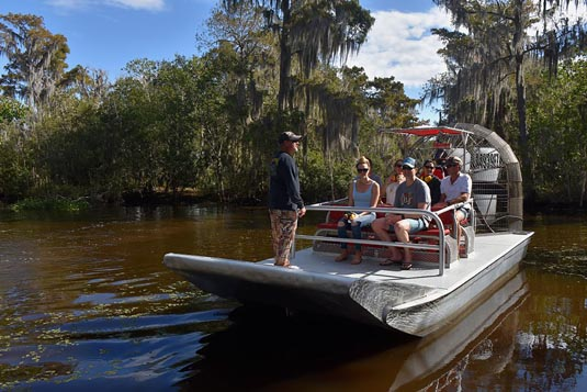 Airboat Swamp Tour excursion