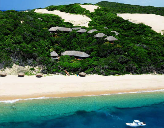 Machangula Beach Lodge - Aerial