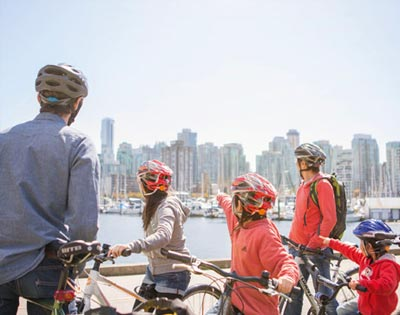 Stanley Park Tour by Bike excursion