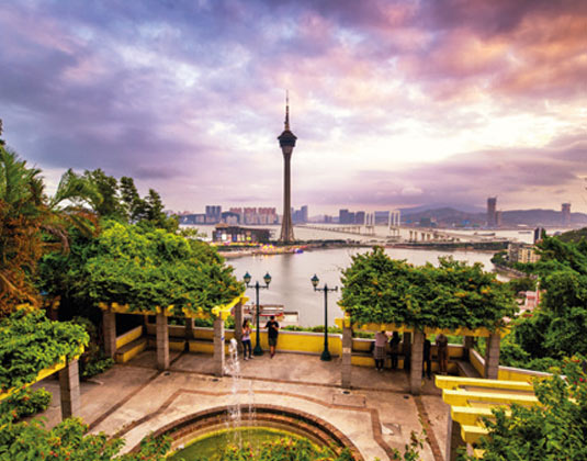 Full day tour to Macao (inc lunch) excursion