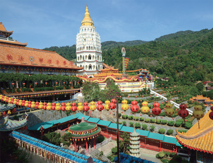 Hill and Temple Penang