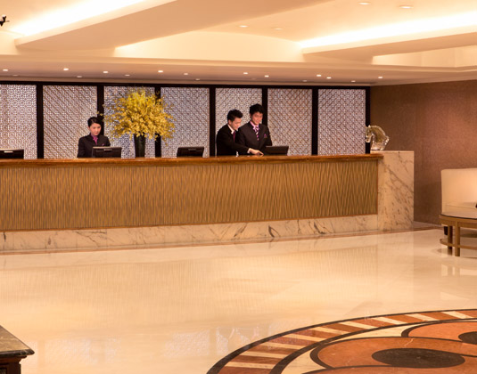 Royal Pacific Hotel & Towers - Reception