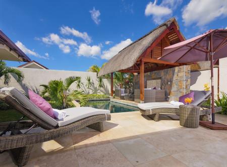The Villas of Clos du Litoral - 3 Bed Villa Pool Area