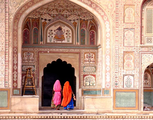 Amber Fort, Jaipur women